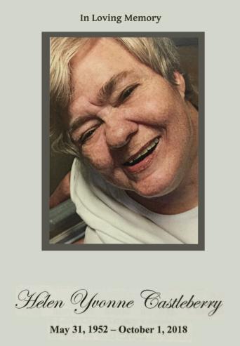 Helen Yvonne Castleberry